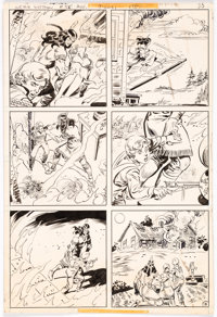 Dick Ayers and Romeo Tanghal Weird Western Tales #58 Story Page 15 Original Art (DC Comics, 1979)