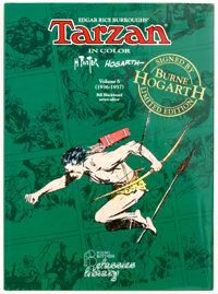 Hal Foster and Burne Hogarth Tarzan In Color Volume 6 Signed Limited Edition #382/500 Hardco