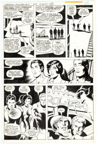 Dick Ayers and Jack Abel Freedom Fighters #14 Story Page 15 Original Art (DC Comics, 1978)