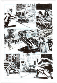 Michael Lark and Stefano Gaudiano Daredevil #95 Story Page 7 Original Art (Marvel Comics, 2007)