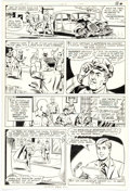 Original Comic Art:Panel Pages, Kurt Schaffenberger and Dave Hunt The New Adventures of Superboy #14 Story Page 14 Original Art (DC Comics, 1981)....