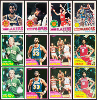 1977 & 1981 Topps Basketball Complete Set Trio (3)