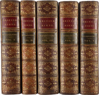 William Macgillivray. A History of British Birds. London: 1837-1852. First edition.... (Total: 5 Items)