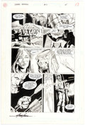 Original Comic Art:Panel Pages, Ed Hannigan and Dick Giordano Green Arrow #4 Story Page 15 Original Art (DC Comics, 1988)....