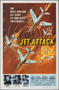 """Movie Posters:War, Jet Attack (American International, 1958). Folded, Very Fine/Near Mint. One Sheet (27"""" X 41"""") & Hardcover Book (6.25""""..."""