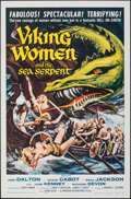 """Movie Posters:Fantasy, Viking Women and the Sea Serpent (American International, 1957). Folded, Very Fine/Near Mint. One Sheet (27"""" X 41"""") &..."""