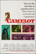 """Movie Posters:Musical, Camelot (Warner Bros-Seven Arts, 1967). Folded, Fine/Very Fine. One Sheet (27"""" X 41"""") & Photos (9) (8"""" X 10""""). Bob Pe..."""