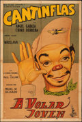 "Movie Posters:Foreign, A Volar Joven (Columbia, 1947). Folded, Fine. Argentinean One Sheet (29"" X 43""). Foreign.. ..."