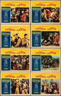"""Movie Posters:Comedy, Pardners & Other Lot (Paramount, 1956). Very Fine-. Lobby Card Sets of 8 (2) (11"""" X 14""""). Comedy.. ... (Total: 16 Items)"""