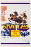 """Movie Posters:Action, The Viking Queen & Other Lot (20th Century Fox, 1967). Folded, Very Fine-. One Sheets (2) (27"""" X 41""""). Action.. ... (Total: 2 Items)"""