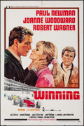 """Movie Posters:Sports, Winning & Other Lot (Universal, 1969). Folded, Overall: Very Fine-. One Sheets (3) (27"""" X 41""""). Howard Terpning Artwork. Spo... (Total: 3 Items)"""