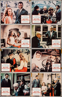 """Guess Who's Coming to Dinner (Columbia, 1967). Overall: Fine+. Lobby Card Set of 8 (11"""" X 14""""). Comedy. ... (T..."""