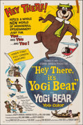 "Movie Posters:Animation, Hey There, It's Yogi Bear (Columbia, 1964). Folded, Fine+. One Sheet (27"" X 41""). Animation.. ..."