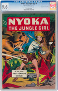 Golden Age (1938-1955):Adventure, Nyoka the Jungle Girl #6 Mile High Pedigree (Fawcett Publications, 1947) CGC NM+ 9.6 Off-white to white pages....