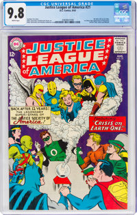 Justice League of America #21 (DC, 1963) CGC NM/MT 9.8 White pages