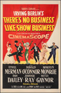 "Movie Posters:Musical, There's No Business Like Show Business (20th Century Fox, 1954). Fine/Very Fine on Linen. One Sheet (27"" X 41""). Musical.. ..."