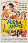 """Movie Posters:Comedy, Bikini Beach & Other Lot (American International, 1964). Folded, Overall: Fine. One Sheets (2) (27"""" X 41""""). Comedy.. ... (Total: 2 Items)"""
