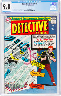 Detective Comics #346 (DC, 1965) CGC NM/MT 9.8 Off-white to white pages