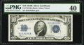 Small Size:Silver Certificates, Fr. 1703 $10 1934B Silver Certificate. PMG Extremely Fine 40.. ...