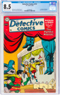 Golden Age (1938-1955):Superhero, Detective Comics #212 (DC, 1954) CGC VF+ 8.5 Cream to off-white pages....