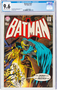 Batman #221 (DC, 1970) CGC NM+ 9.6 Cream to off-white pages