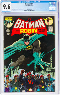 Batman #230 (DC, 1971) CGC NM+ 9.6 White pages