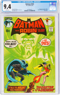 Batman #232 (DC, 1971) CGC NM 9.4 White pages