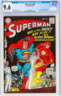 Silver Age (1956-1969):Superhero, Superman #199 (DC, 1967) CGC NM+ 9.6 Off-white to white pages....