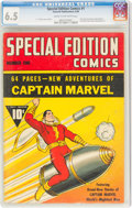 Golden Age (1938-1955):Superhero, Special Edition Comics #1 (Fawcett Publications, 1940) CGC FN+ 6.5 Cream to off-white pages....
