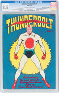 Golden Age (1938-1955):Superhero, Atomic Thunderbolt #1 Mile High Pedigree (Regor Company, 1946) CGC VF+ 8.5 Off-white to white pages....