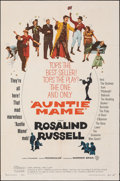 "Movie Posters:Comedy, Auntie Mame (Warner Bros., 1958). Folded, Very Fine-. One Sheet (27"" X 41""). Comedy.. ..."