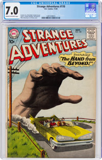 Strange Adventures #110 (DC, 1959) CGC FN/VF 7.0 Cream to off-white pages