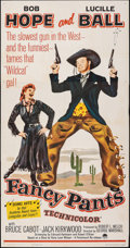 """Movie Posters:Comedy, Fancy Pants (Paramount, R-1962). Folded, Very Fine-. Three Sheet (41"""" X 79""""). Comedy.. ..."""