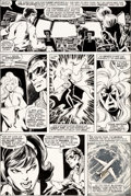 Original Comic Art:Panel Pages, John Byrne and Terry Austin X-Men #120 Story Page 5 Cyclops and Storm Original Art (Marvel, 1979)....