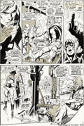 Original Comic Art:Panel Pages, Neal Adams and Tom Palmer Avengers #93 Story Page 12 Vision and Ant-Man Original Art (Marvel, 1971)....