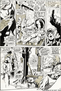 Neal Adams and Tom Palmer Avengers #93 Story Page 12 Vision and Ant-Man Original Art (Marvel, 1971)