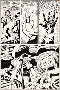 John Buscema and Sal Buscema Silver Surfer #7 Story Page 3 Original Art (Marvel, 1969)