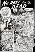 "Original Comic Art:Complete Story, Superior Publishers Artist Journey Into Fear #12 Complete 6-Page Story ""No Rest for the Dead"" Original Art (Superi... (Total: 6 Original Art)"