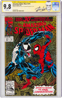 The Amazing Spider-Man #375 Signature Series: Stan Lee (Marvel, 1993) CGC NM/MT 9.8 White pages