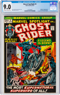 Marvel Spotlight #5 (Marvel, 1972) CGC VF/NM 9.0 Off-white to white pages
