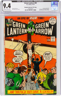 Green Lantern #89 Murphy Anderson File Copy (DC, 1972) CGC NM 9.4 Off-white to white pages
