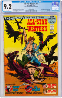 All-Star Western #11 (DC, 1972) CGC NM- 9.2 White pages