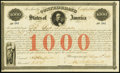 Confederate Notes:Group Lots, Ball 16 Cr. 4 $1,000 1861 Bond About About Uncirculated.. ...