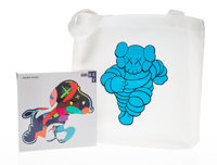 KAWS X NGV Stay Steady Puzzle and Running Chum Tote Bag, 2019 1000 piece jigsaw puzzle an