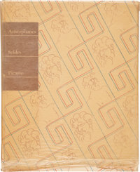 [Picasso]. [Limited Editions Club]. Aristophanes. Lysistrata. A New Version by Gilbert Selde