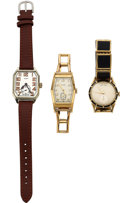 Timepieces:Wristwatch, Three Elgin Vintage Wristwatches, Runners. ... (Total: 3 Items)