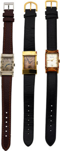 Timepieces:Wristwatch, Three Bulova Watches, Academy Awards, Top Hat, Jefferson M...