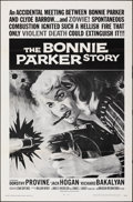 """The Bonnie Parker Story (American International, R-1968). Folded, Very Fine+. One Sheets (3) Identical (27"""" X 41&qu..."""