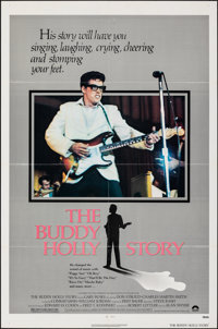 """The Buddy Holly Story (Columbia, 1978). Folded, Very Fine+. One Sheets (2) (27"""" X 41"""") Styles A & B. Rock..."""