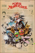 "Movie Posters:Comedy, The Great Muppet Caper & Other Lot (Universal, 1981). Folded, Very Fine-. One Sheets (2) (27"" X 41"") Drew Struzan Artwork. C... (Total: 2 Items)"